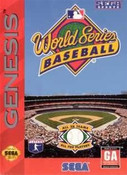 Complete WORLD SERIES Baseball - Genesis