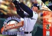 Complete Major League Baseball Ken Griffey Jr - N64