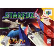 Star Fox 64 with Rumble - N64 Box