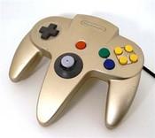 Original Controller Gold - Nintendo 64 (N64)