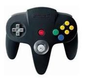 Original Controller Black- Nintendo 64 (N64)