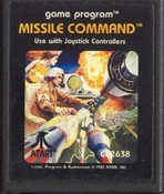 MISSILE COMMAND - Atari 2600 Game