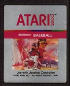 Real Sports Baseball - Atari 2600 Game