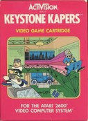 KEYSTONE KAPERS - Atari 2600 Game