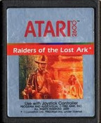 Raiders of the Lost Ark Atari 2600 Game