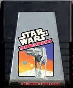 Star Wars The Empire Strikes Back - Atari 2600 Game