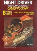 Night Driver - Atari 2600 Game