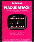 Plaque Attack - Atari 2600 Game