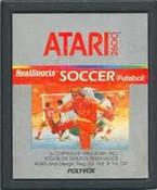 Real Sports Soccer - Atari 2600 Game