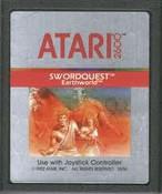 Swordquest Earth World - Atari 2600 Game