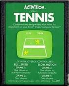 Tennis - Atari 2600 Game