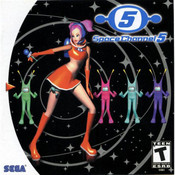 Space Channel 5 Video Game For Sega Dreamcast