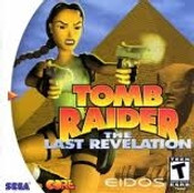 Tomb Raider The Last Revelation - Dreamcast Game