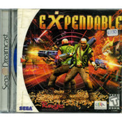 Expendable Video Game For Sega Dreamcast