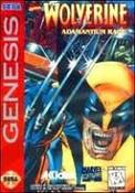 Wolverine Adamantium Rage - Genesis Game