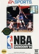 NBA Showdown 94 - Genesis Game
