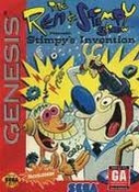 Stimpy's Invention - Genesis Game