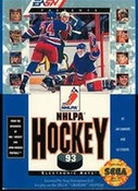 NHLPA Hockey 93 - Genesis Game