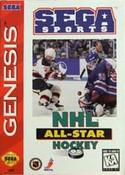 NHL All Star Hockey 95 - Genesis Game
