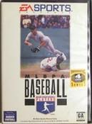 MLBPA Baseball - Genesis Game