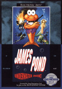 James Pond Underwater Agent - Genesis Game