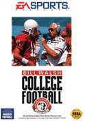 Bill Walsh College Football - Genesis Game