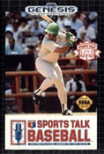 Sports Talk Baseball - Genesis Game