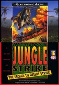 Jungle Strike - Genesis Game