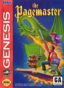 Pagemaster,The - Genesis Game