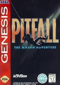 Pitfall Mayan Adventure - Genesis Game