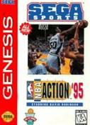 NBA Action 95 Starring David Robinson - Genesis Game