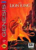 Lion King, The - Genesis Game