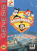 Animaniacs - Genesis Game