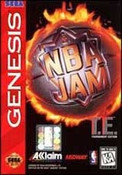 NBA Jam Tournament ED. - Genesis Game