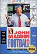 John Madden Football '93 - Genesis Game