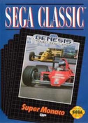 Super Monaco GP - Genesis Game