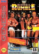 WWF Royal Rumble - Genesis Game