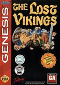 Lost Vikings, The - Genesis Game