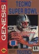 Tecmo Super Bowl Football - Genesis Game