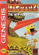 Pac-Man 2 The New Adventures - Genesis Game