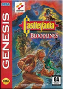Castlevania Bloodlines - Genesis Game