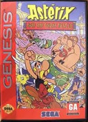 Asterix And The Great Rescue - Genesis Game