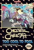 Chester Cheetah Too Cool Too Fool - Genesis Game