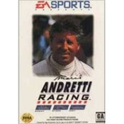 Mario Andretti Racing - Genesis Game