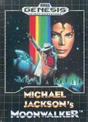 Michael Jackson's Moonwalker - Genesis Game