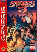 Streets of Rage 3 - Genesis Game