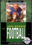 John Madden Football - Genesis Game