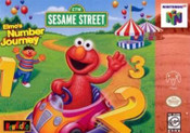 Elmo's Number Journey - N64 Game
