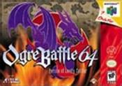 Ogre Battle 64 - N64 Game