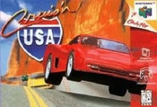 Cruis'n USA Nintendo 64 N64 video game box art image pic